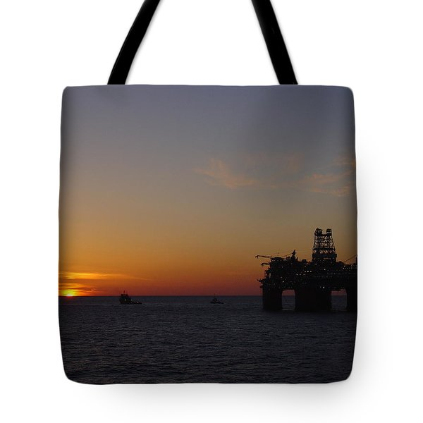 Thunder Horse Tow Out Tote Bag