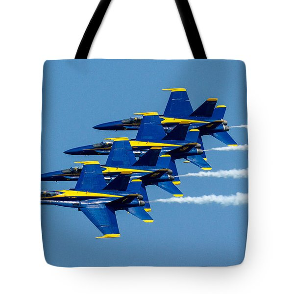 Tight Formation Tote Bag by Allan Levin