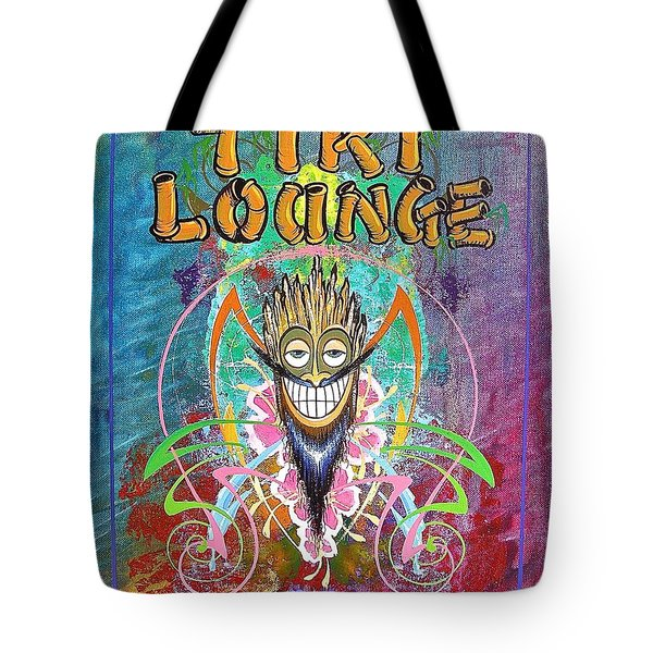 Tiki Lounge  Tote Bag