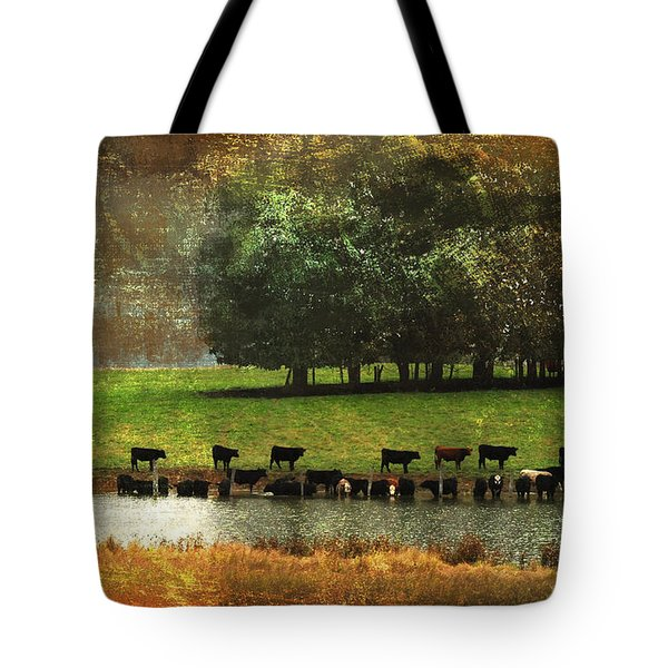 Till The Cows Come Home Tote Bag