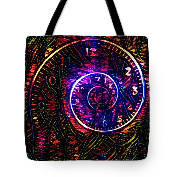 Time Spiral Tote Bag
