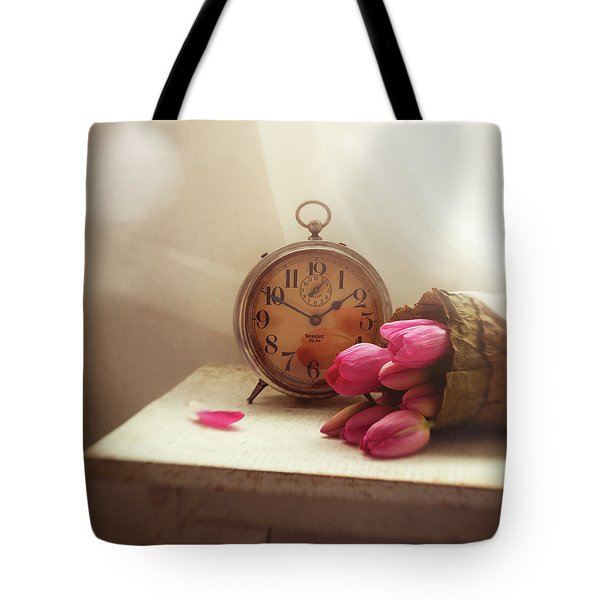 Tote Bag featuring the photograph Time Stood Still by Amy Weiss