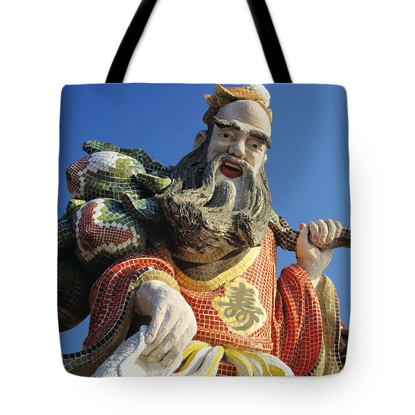 Tin Hua Temple Tote Bag by Gloria & Richard Maschmeyer - Printscapes