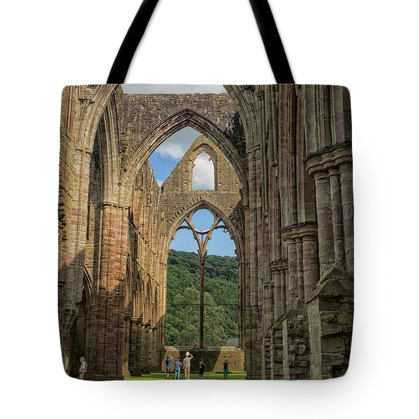 Tintern Abbey Tote Bag