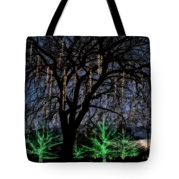 'tis The Season Tote Bag by Eduard Moldoveanu