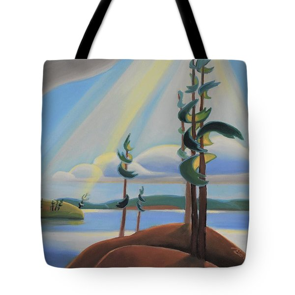 To The North Tote Bag