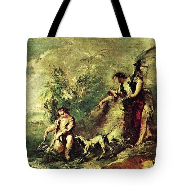 Tobias Fishing Tote Bag