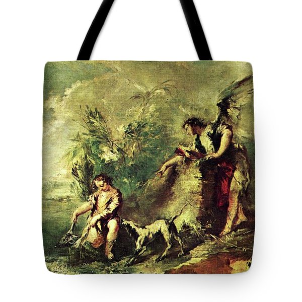 Tobias Fishing Tote Bag