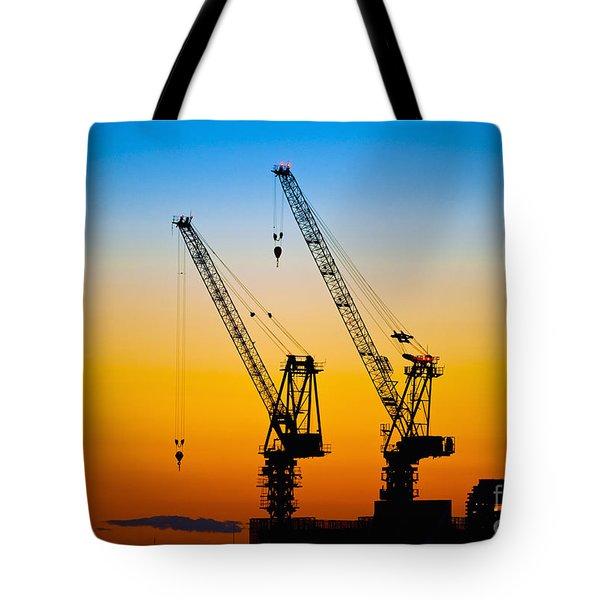 Tokyo Tote Bag by Bill Brennan - Printscapes