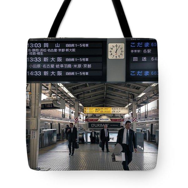 Tokyo To Kyoto, Bullet Train, Japan 3 Tote Bag