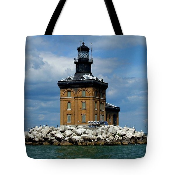 Toledo Harbor Lighthouse Tote Bag