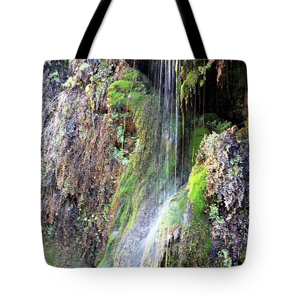 Tonto Waterfall Cave Tote Bag