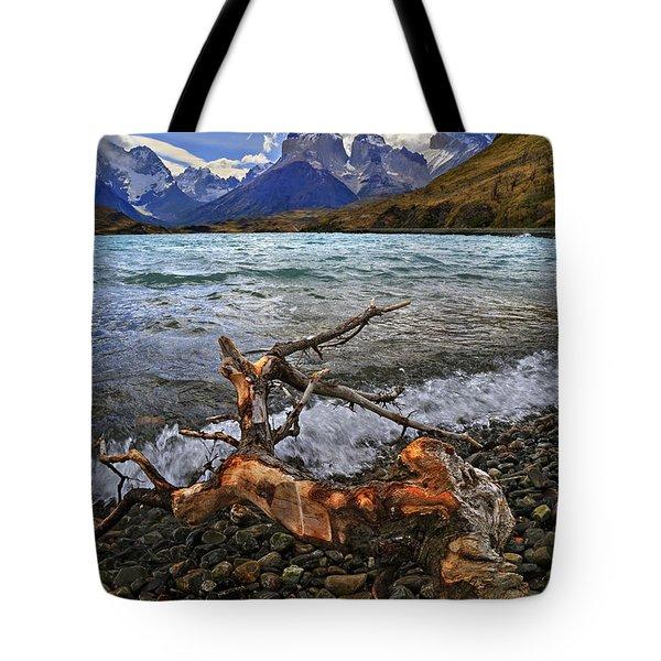 Torres Del Paine 17 Tote Bag