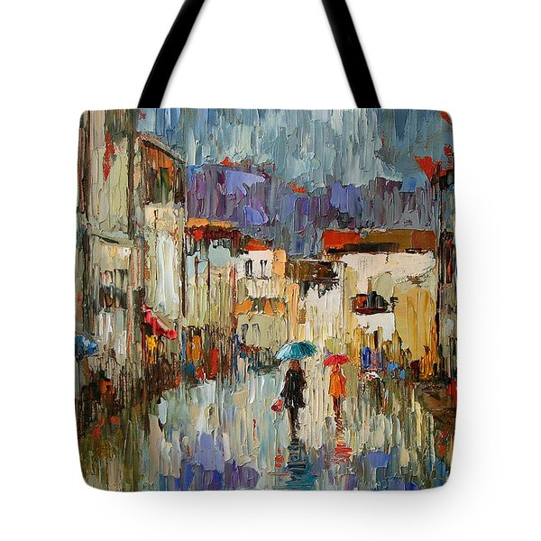 Tourists Tote Bag by Debra Hurd