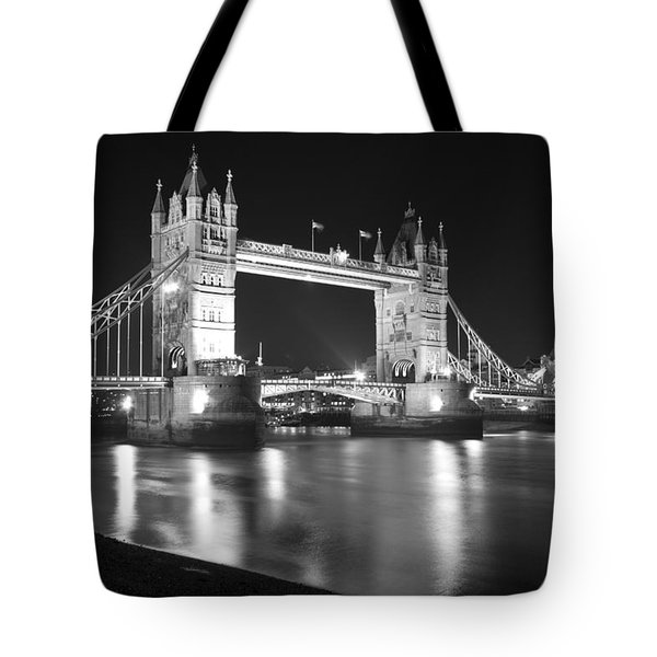 Tower Bridge On The Thames London Tote Bag