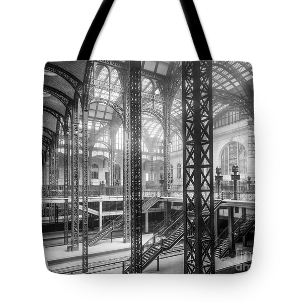 Track Level And Concourses Pennsylvania Station New York Tote Bag