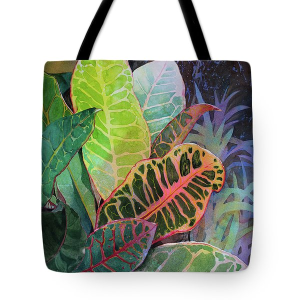 Tote Bag featuring the painting Trailblazers by Kris Parins