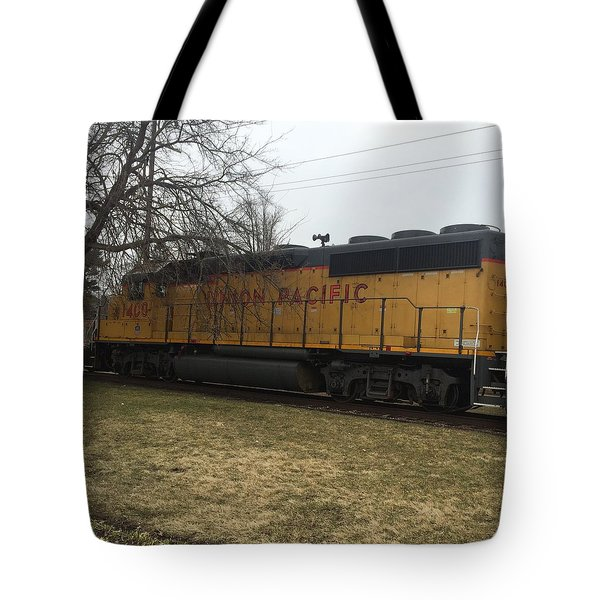 Train At The Ymca Tote Bag