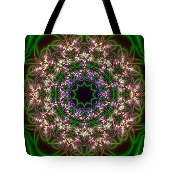 Transition Flower 10 Beats Tote Bag