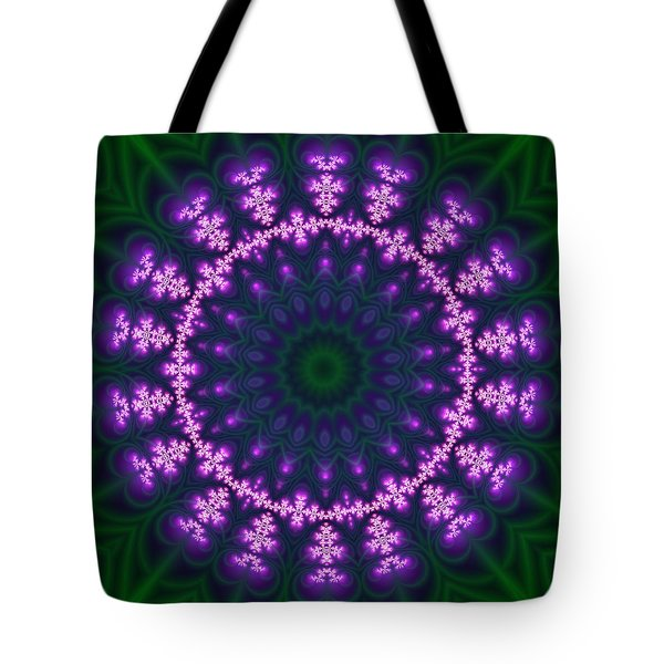 Transition Flower  Tote Bag