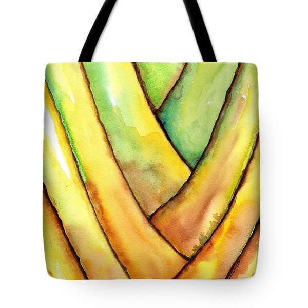 Travelers Palm Trunk Tote Bag