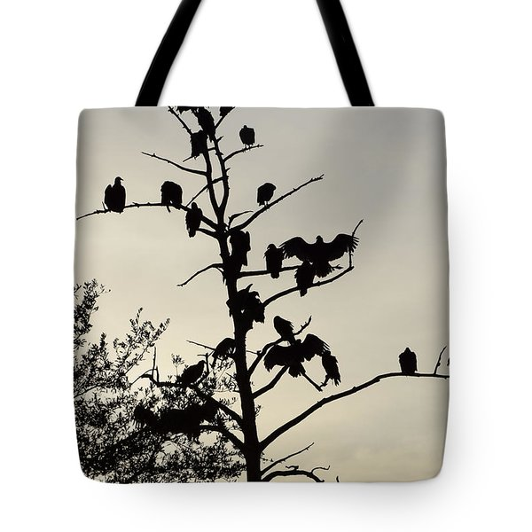 Tree For The Hungry Tote Bag