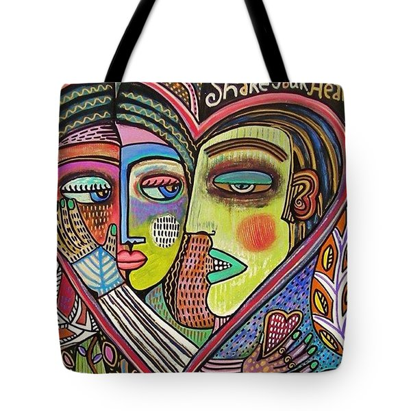 Tree Of Life Heart Lovers Tote Bag