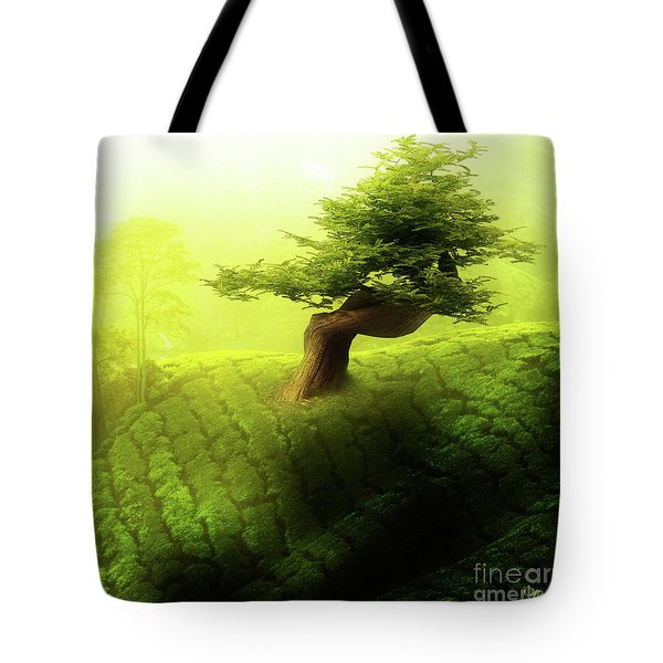 Tote Bag featuring the photograph Tree Of Life by Mo T