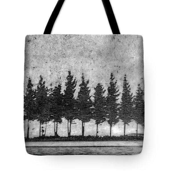 Tree Road Tote Bag