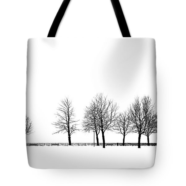 Tote Bag featuring the photograph Trees by Chevy Fleet