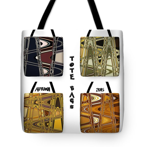 Trendy Autumn Tote Bags - Design Sir Josef Putsche - Collection 2015 -  Tote Bag