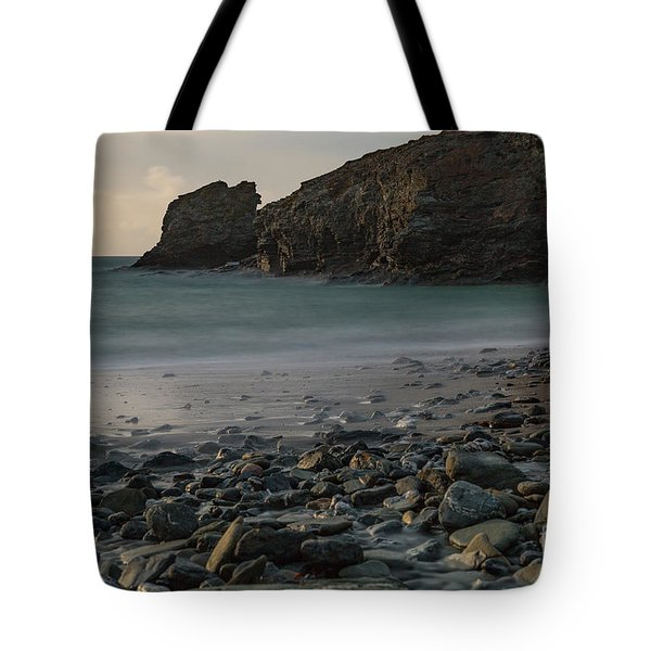 Tote Bag featuring the photograph Trevellas Cove by Brian Roscorla