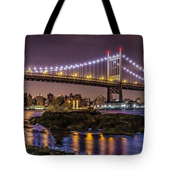 Triboro Bridge Tote Bag