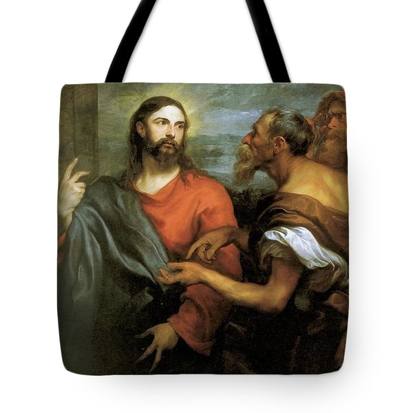 Tribute Money Tote Bag