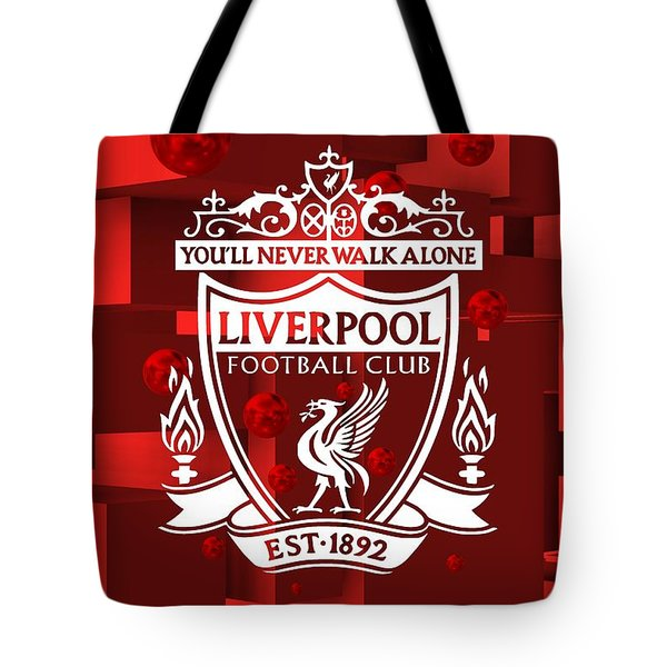 Tribute To Liverpool 3 Tote Bag