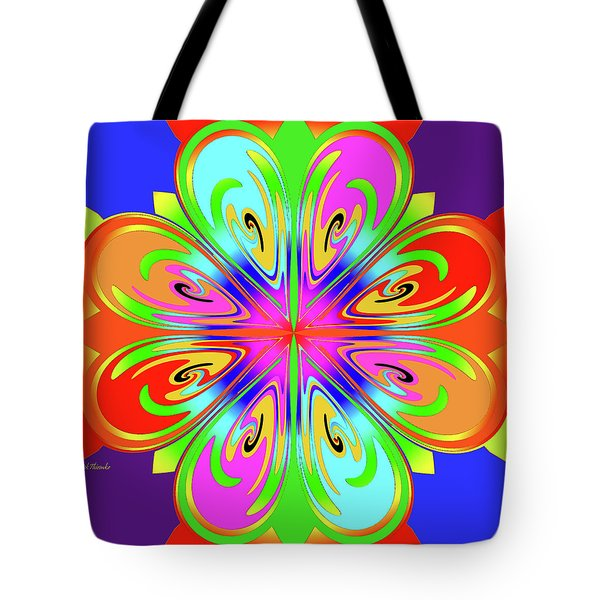 Tribute To Peter Max Tote Bag