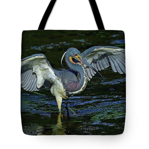 Tricolor Hunting Tote Bag