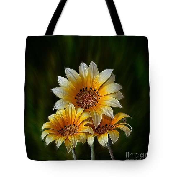 Triple Sunshine Tote Bag