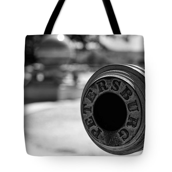 Trophy Point Cannon  Tote Bag