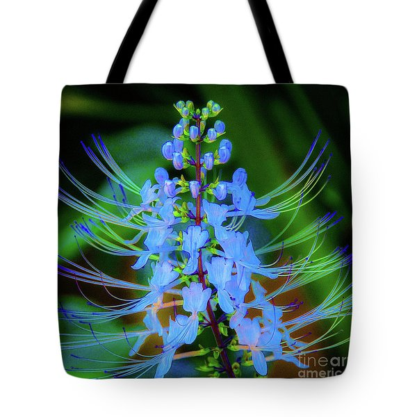 Tropical Plants And Flowers In Hawaii Tote Bag