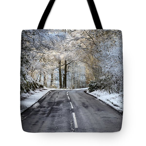 Trossachs Scenery In Scotland Tote Bag by Jeremy Lavender Photography