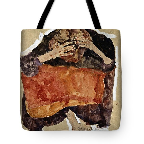 Troubled Woman Tote Bag
