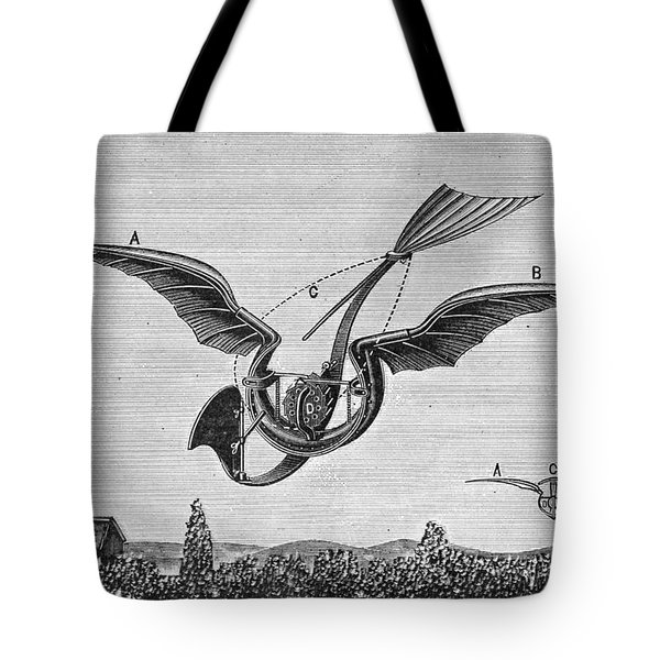 Trouv�s Ornithopter Tote Bag by Granger