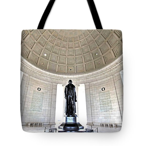 Truth And Reason Tote Bag by Mitch Cat
