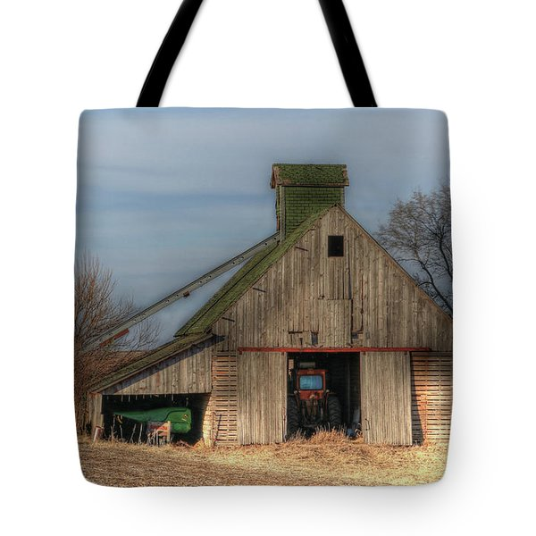 Tucked  Away In Rural Iowa Tote Bag