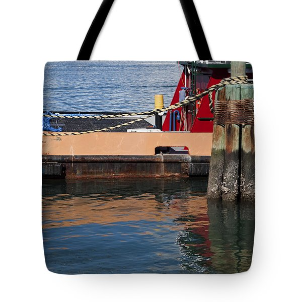 Tug Indian River Tote Bag by Allan  Hughes