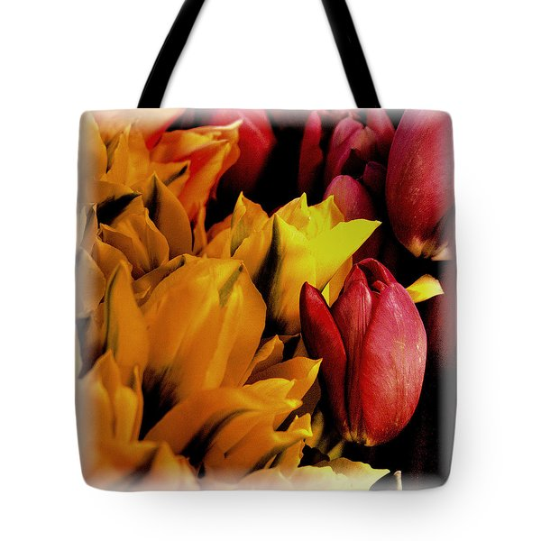 Tulips  Tote Bag by David Patterson