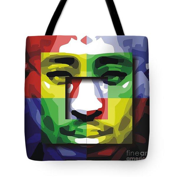Tupac 4x Tote Bag