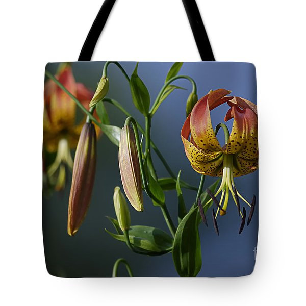 Turk's Cap Lily Tote Bag by Randy Bodkins