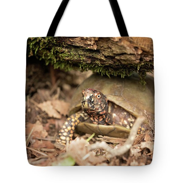 Turtle Town Tote Bag